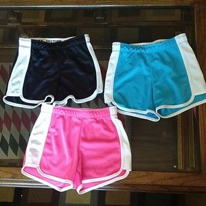 Justice Active, girl's shorts bundle